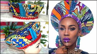 How to make ISICHOLO (Zulu hat) at home| Beautarie DIY