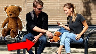Picking Up Girls With Teddy Bear PRANK! (Part 2)