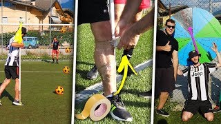 ⚽ TWISTER PENALTY FOOTBALL CHALLENGE! w/ Banda del Trentino