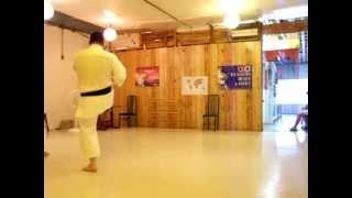 Jiin kata karate shotokan Carolina Ruiz Martin Silva 2010