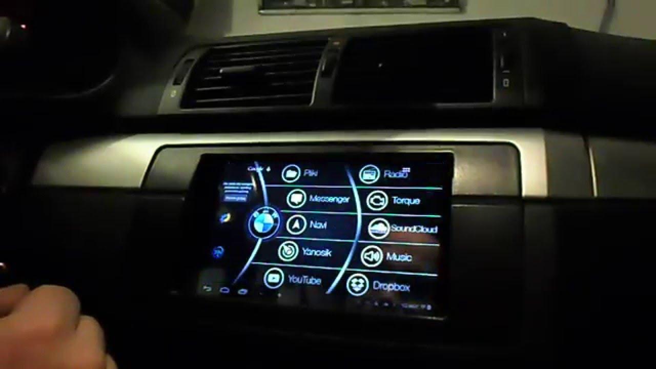 Nexus 7 in BMW e46 - YouTube