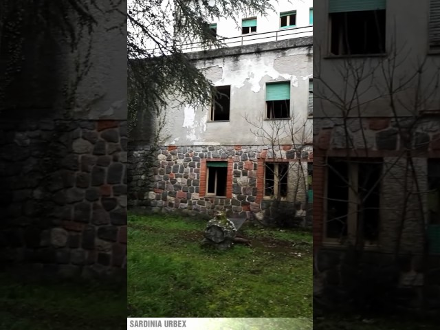 Sardinia Urbex: Ex Albergo Esit a San Leonardo - Prima Parte