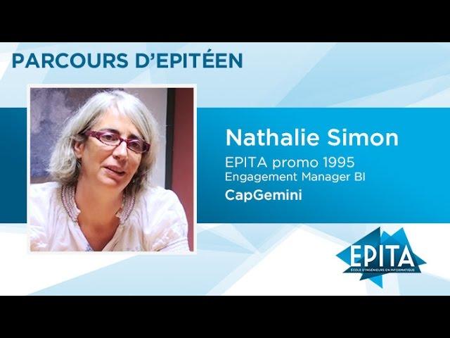 Parcours d'Epitéens - Nathalie Simon (promo 1995) - CapGemini