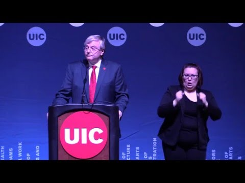 State of the University of Illinois at Chicago Address
