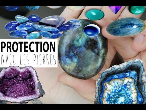 Mon Top 5 Des Pierres De PROTECTION !