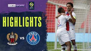 Nice 0-3 PSG | Ligue 1 20/21 Match Highlights