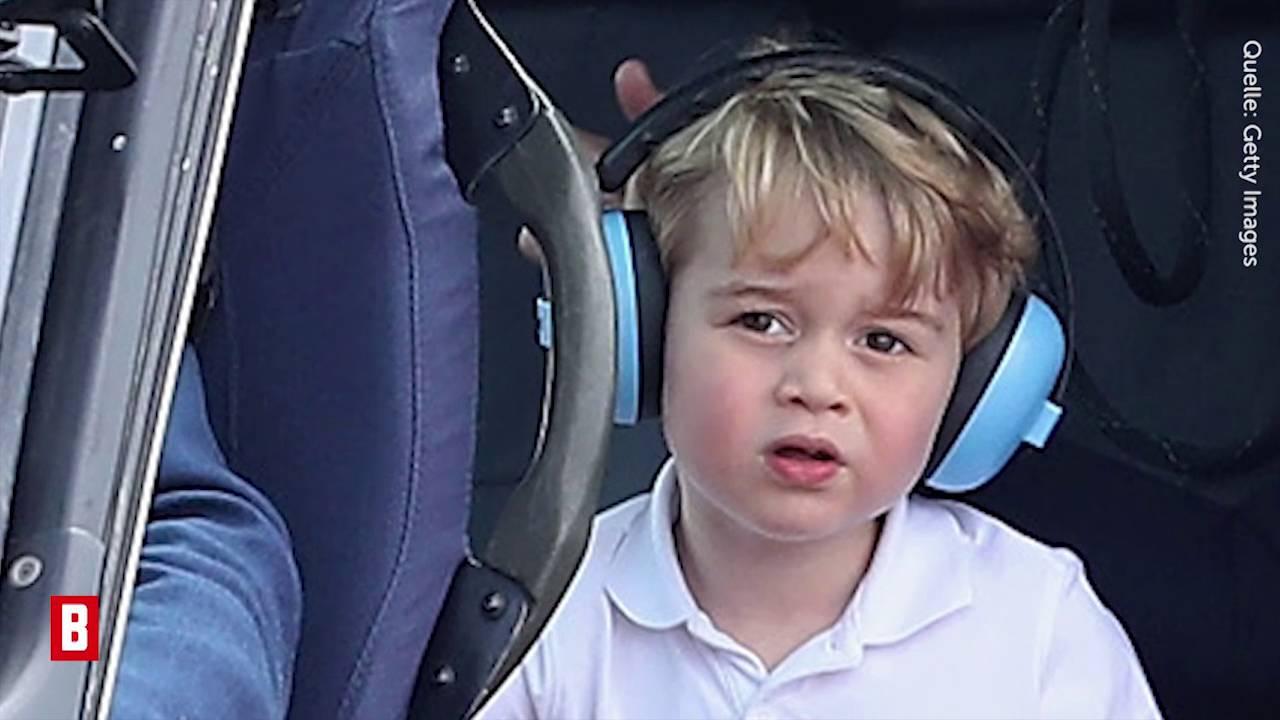 Prinz George - Zuckersüße Bilder: Kates kleiner Pilot hebt ab!  - BUNTE TV