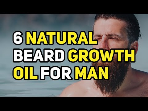 6 Natural Beard Growth Oil for Man