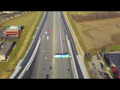 Walsh Construction Completes New I-69 Interchange In Fishers, Indiana