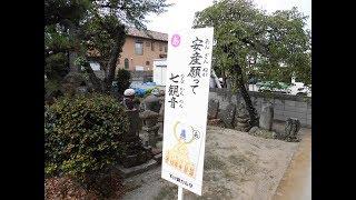 安産願って七(なな)観音・・矢島の七観音と天満宮、石仏群・・前橋/群馬