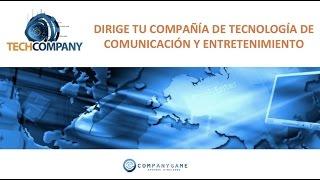 Simulador empresarial TechCompany de CompanyGame