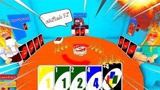 Roblox : Uno #2 เธอทำให้ฉัน Get Rekt