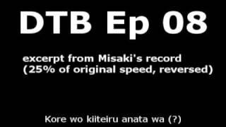 [reversed] Misaki's record (slowmo)