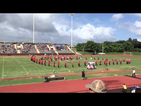 Kauai High School Home Coming Half Time Show ~ 2015