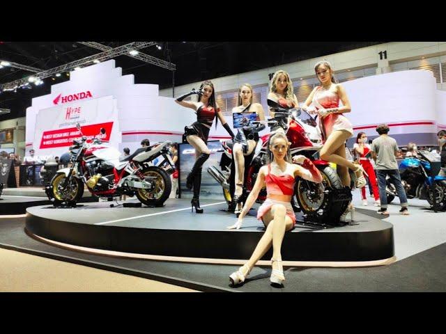 📢 รถจักรยานยนต์ฮอนด้าคว้า 2 รางวัลพิเศษใน Motor Show 2021
