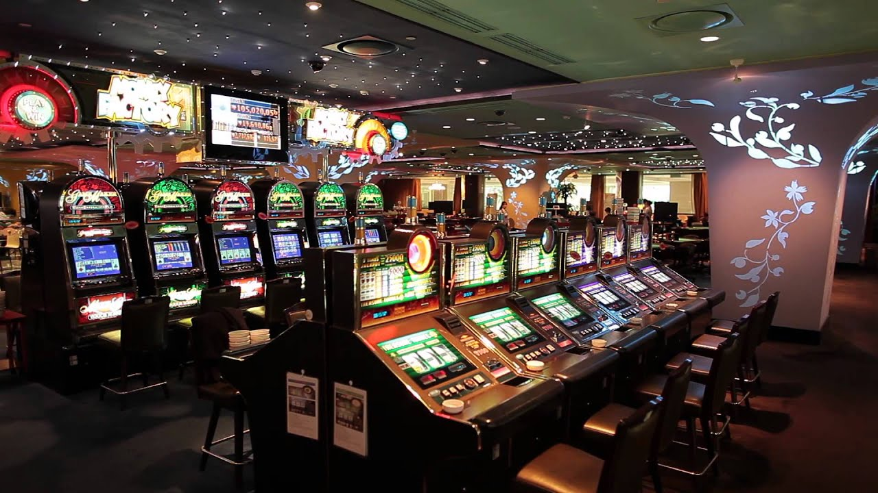 Le machine del casino