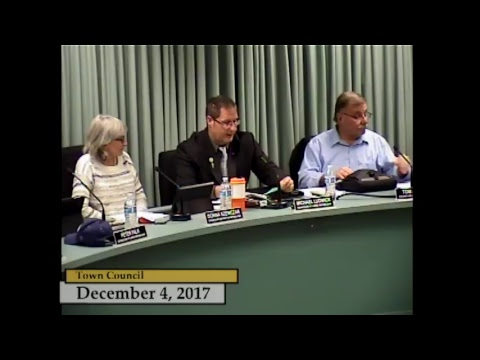 Enfield, CT - Town Council - December 4, 2017