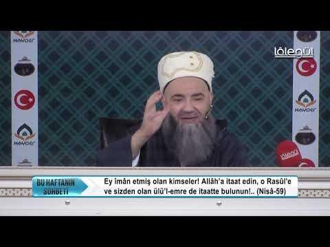 O'na (yaklaştıracak) vesile(ler) arayın - Mâide-35 - Cübbeli Ahmet Hocaefendi Lâlegül TV