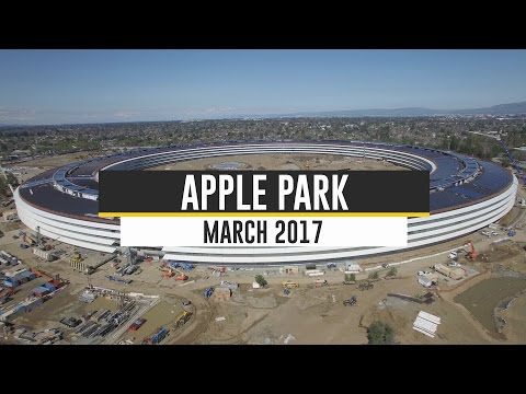 APPLE CAMPUS 2/APPLE PARK: March 2017 Update 4K