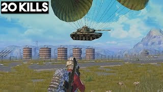 YOU WILL NOT BELIEVE THIS AIR DROP! | 20 KILLS SOLO vs SQUAD | PUBG Mobile 🐼 thumbnail