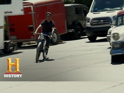 American Pickers: Mike Goes For A Bike Ride
