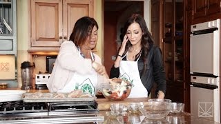 Smoke In The Kitchen: Chicken Provencal with Dr. Dina