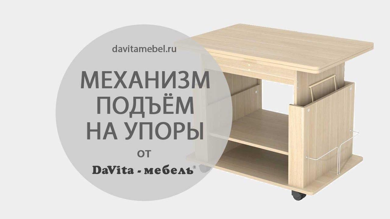 Механизм «Подъем на упоры» от «DaVita-мебель» - DaVita-мебель