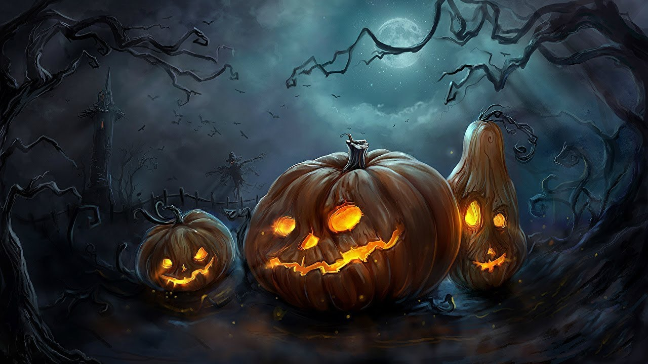 The History Of Halloween - Halloween Traditions Explained - YouTube