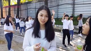 Первый заработок Су Бин как модели - 충장축제 2018