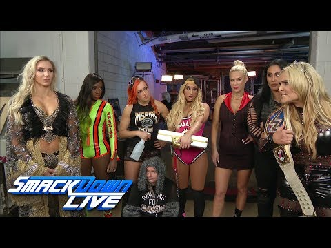 Natalya has a warning for Charlotte Flair and Team SmackDown: SmackDown LIVE, Oct. 31, 2017