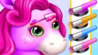 Pony Sisters Pop Music Band  Fun Pet Care Game- Play Pony Makeup, Dress Up, Makeover Games For Girls