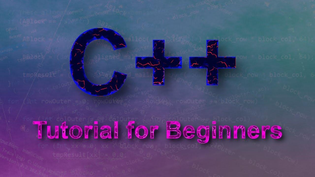 C++ Tutorials