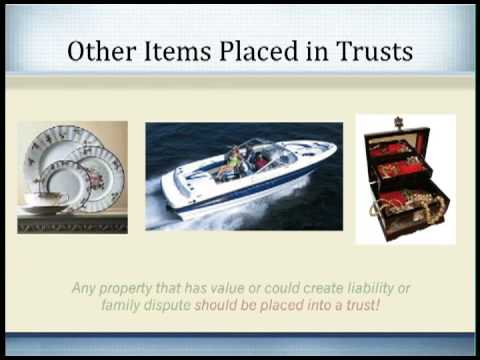 Setting up a Family Trust, Land Trust, and Living Trust to Protect Assets