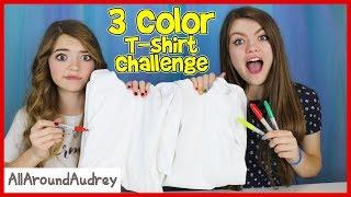 3 Marker T-Shirt Challenge! / AllAroundAudrey