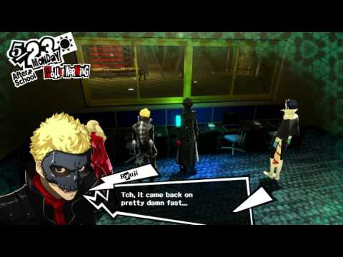 Persona 5 - 5-23 Monday: Madarame's Palace: Team Meet Up, Museum Main Hall  & Control Room Gameplay