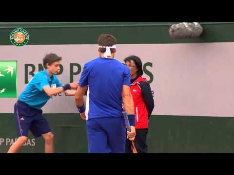 Roland Garros 2014 Thursday Highlights Bolelli Ferrer