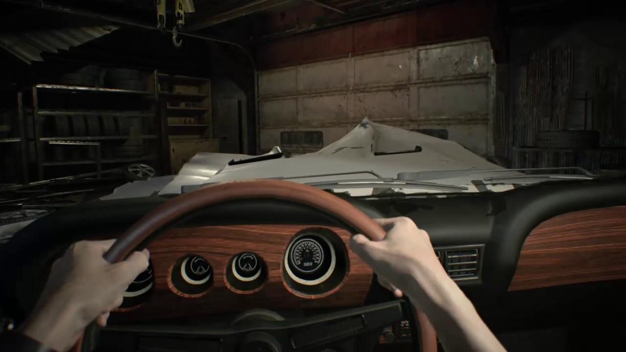 Resident Evil 7 Daddy Jack Baker Garage Boss Battle Youtube