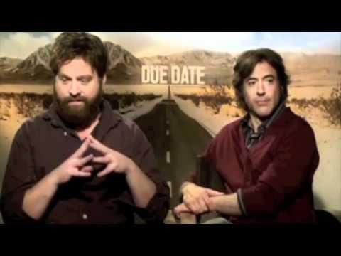 Robert Downey Jr & Zach Galifianakis moments