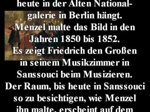 von Menzel 1852 Das Flötenkonzert Friedrichs des Großen in Sanssouci