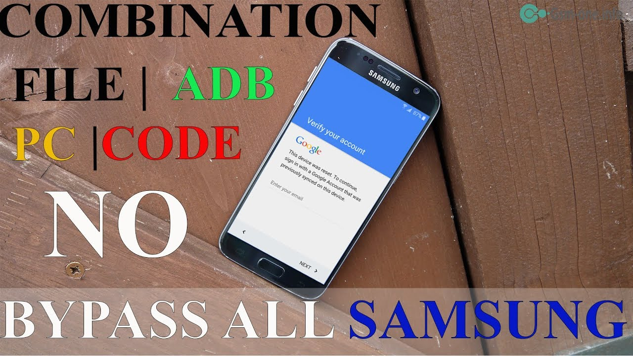 NEW SOLUTION BYPASS FRP LOCK ALL SAMSUNG NO COMBINATION FILE , PC , CODE ,  ADB