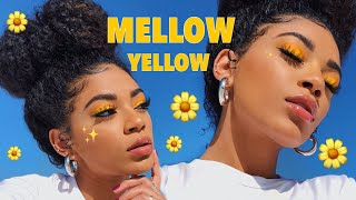 Hey everyone! Here's a nice yellow makeup tutorial on this mellow y...
