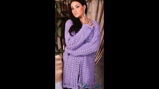 Вязание Крючком - Летние Женские Кофточки, Кардиганы - 2019 / Knitting Crochet - Blouses Cardigans