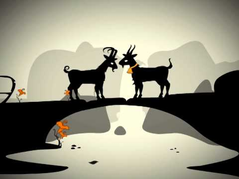 Little Fables - Fable Stories For Kids -  Two Goats and a Bridge