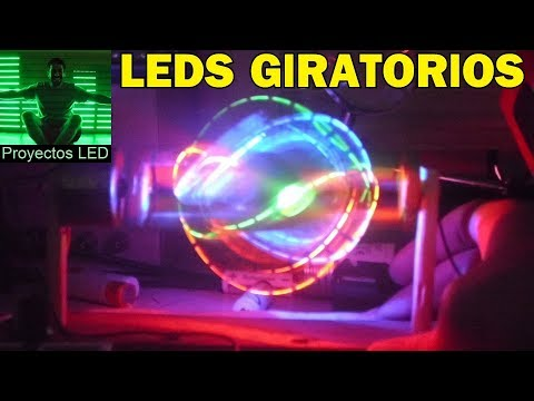 Rearmando la esfera de leds giratorios, Spinning RGB LED Ball