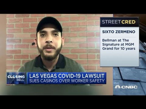 Las Vegas Covid-19 lawsuit: Casinos sued over worker safety