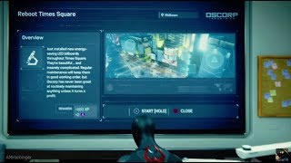 Marvel's Spider-Man - Reboot Time Square - Harry Osborn Side Mission