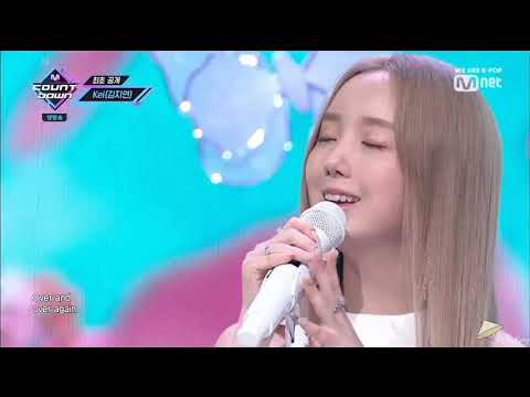 191010 Kei (김지연) - Paper Moon (종이달) & I Go @ M!Countdown Solo Debut Stage