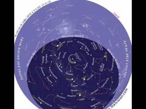 comment lire une carte du ciel