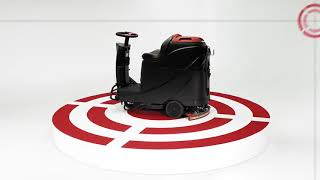 Viper AS530R mini Ride-on Scrubber Dryer at WB Floor Machines