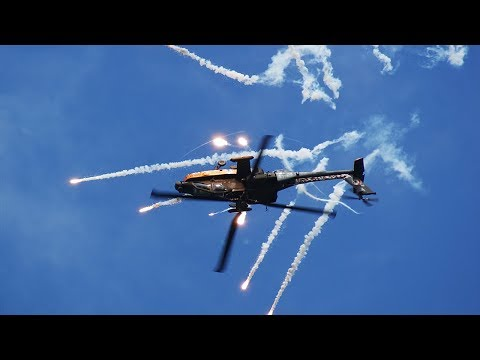 Look Behold the AH-64 Apache attack helicopter and all of its weapons!